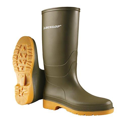 Dunlop Protective Footwear Unisex-Erwachsene Dunlop Dull Gummistiefel, Grün, 40 EU