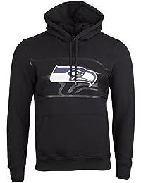 New Era Fleece Hoody - NFL Seattle Seahawks 2.0 schwarz