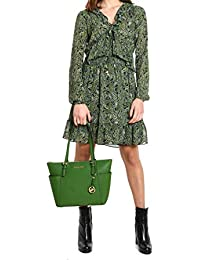 0eaf264d5c Michael Kors Michael Women's MU88Y3C9AS362 Green Polyester Dress