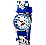 Mixe Wasserdichte Sport-Uhren Kinder 3D Bus Auto Fußball Design Style Armbanduhr mit Edelstahl Fall Rubber Strap Jungen Mädchen Zeit Lernen Geschenk ME356