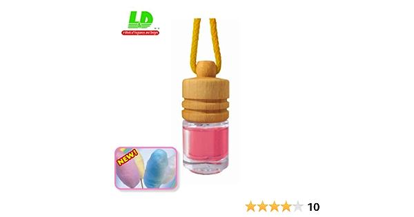 Eleganter Duftflakon Duftbaum Autoduft Duftflasche Zuckerwatte Cotton Candy 5ml Auto