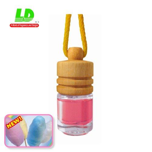 Preisvergleich Produktbild Eleganter Duftflakon Duftbaum Autoduft Duftflasche - Zuckerwatte Cotton Candy 5ml
