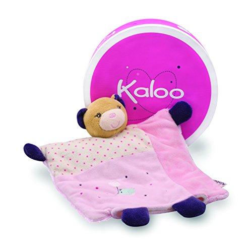 Kaloo Petite Rose Doudou Bella Orso Marionetta con Anello per la dentizione