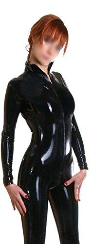 ezshe-Body-Donna nero S,Vedi tabella Cintola nella descrizione del (Latex Cintola)