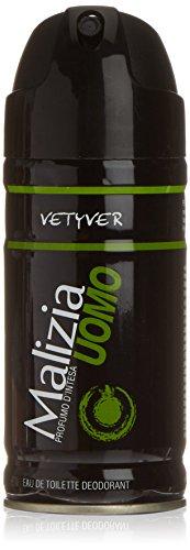 Malizia Uomo Deo 'Vetyver', 150 ml