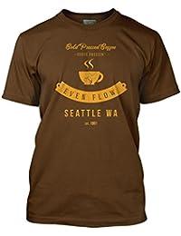 Bathroom Wall Pearl Jam Inspired Even Flow Grunge, Men's T-Shirt