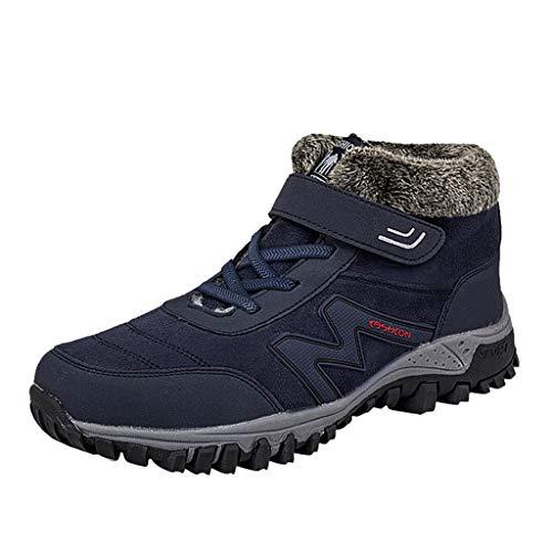 Stivali Sportivi Unisex Invernali Impermeabili Antiscivolo Stivali da attrezzeria con Tubo Alto Scarpe da Escursionismo all'aperto per Donne/Ragazze di Kinlene Vendita