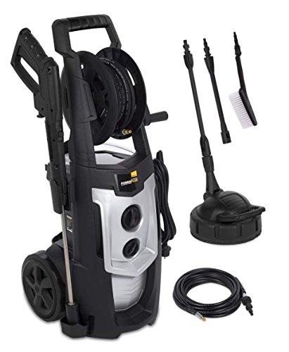 Powerplus powxg90425senkrecht Elektro 468L/H Hochdruck 2500W schwarz grau Reinigungstuch, oder Hochdruckreiniger–Hochdruckreiniger (senkrecht, elektrisch, 8m, Hochdruck, 1,1l, 5m)