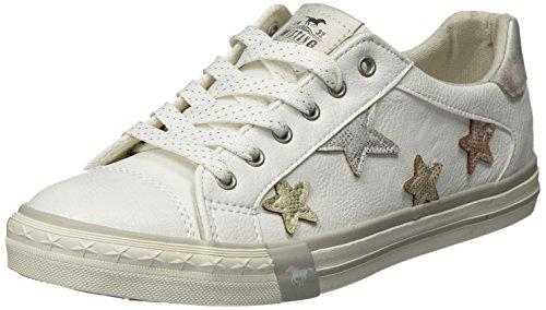 Mustang Damen 1146-308-1 Sneaker, Weiß (Weiß), 39 EU