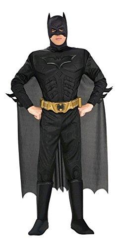 Batman Kostüm Superheld DC Comic Held Schwarzer Ritter für (Dc Kostüme Comics)