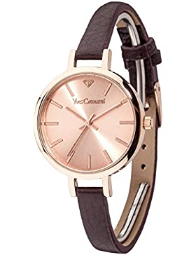 Yves Camani Damen-Armbanduhr Nonette Analog Quarz YC1073-C