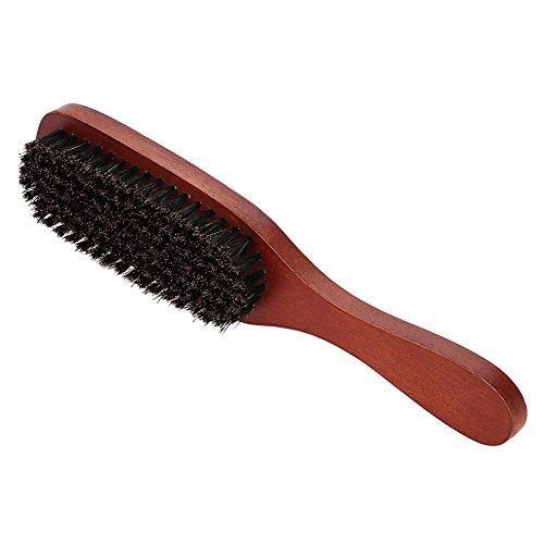 Cepillo barba hombre Rojo Cerdas madera Bigote Afeitado