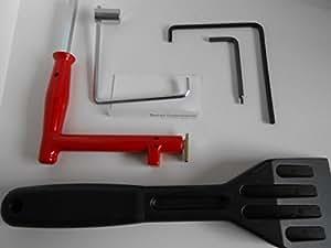roto fenster montage set einstell werkzeug klotzhebel fenstergriff verschiedene inbusse. Black Bedroom Furniture Sets. Home Design Ideas