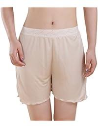 Baymate Mujer Lencería Pantalón Corto Pantalones Cortos Leggings Encaje Recorte Vaciada Anti