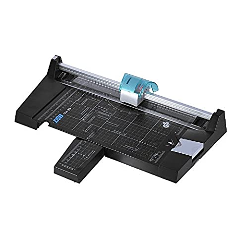 HooGels A4 Paper Trimmer Cutter With Safe Stainless Steel Blade For Standard Cutting Of Paper, Photos Or Labels