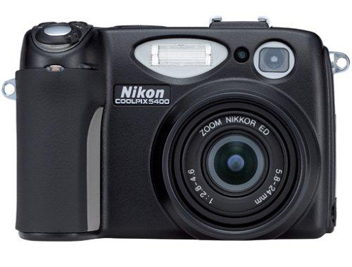 Nikon Digitale Camcorder (Nikon Coolpix 5400 Digitalkamera (5,1 Megapixel))