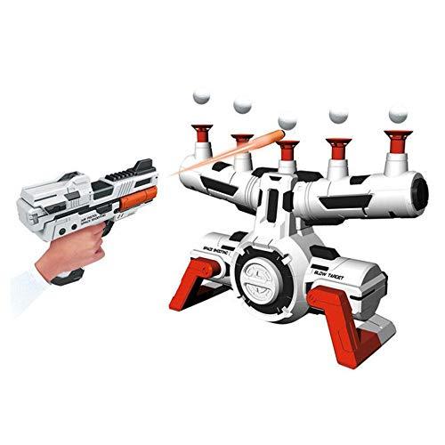 Elektro-Shooting-Ziel, Womdee Shooting Target für Nerf Guns Blaster kompatible Nerf Ziele für Shooting Target Target Practice Games Toy mit Schaumkugel Gummi Soft Bomb für Kinder