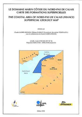 Le domaine marin côtier du Nord-Pas-De-Calais.: Carte des formations superficielles - Echelle-Scale : 1/100 000 (50°50' N)