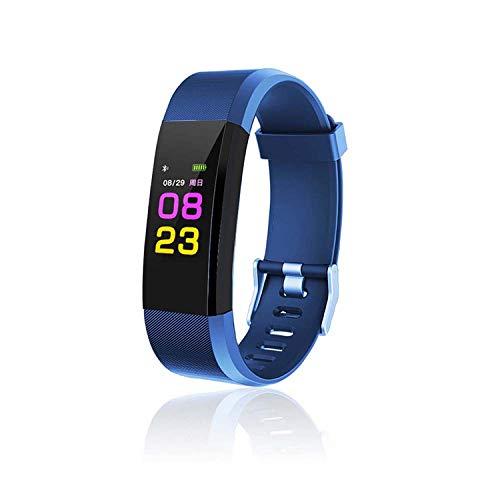 Maju Smartfit Fitness Tracker - Pulsera de actividad para fitness, con corazón, color rojo 1