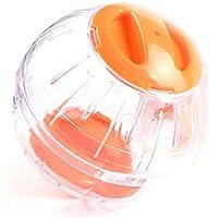 Hamster Running Ball en Plastique Jogging Exercice Jouets Petit Animal Roues Running Souris Souris Courant Boule De Cristal