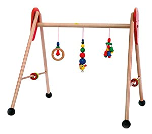 Hess Wooden Baby Activity Baby Gym Caterpillar Toy by Hess