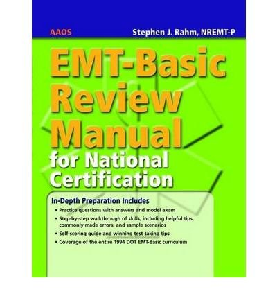 [( EMT-Basic Review Manual for National Certification By Aaos ( Author ) Paperback Feb - 2006)] Paperback