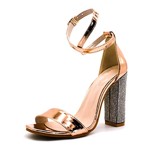 Pianta Sandalo Elegante Rosa Larga Donna PuOXkZi
