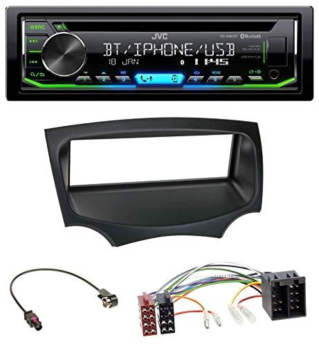 caraudio24 JVC KD-R992BT Bluetooth MP3 CD AUX USB Autoradio für Ford Ka (RU8, ab 2008)