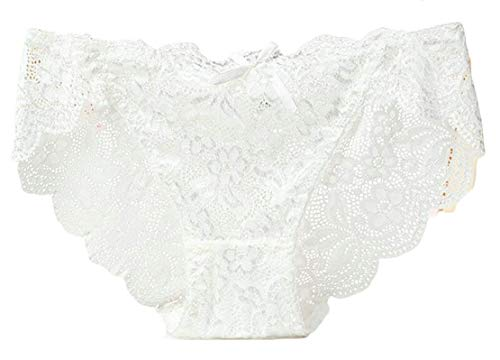 TTYLLMAO Women's Sexy Lace Boyshort Bikini Panties Floral Underwear Lingerie