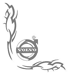 2x VOLVO No107 Tribal Seitenscheibe ca. 27 cm Aufkleber LKW Truck Tuning Trucker Sticker Decal von MYROCKSHIRT