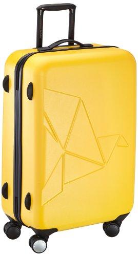 Pack Easy Koffer Futuro Zip, 69 cm, 73 Liter, gelb, 9792GE gelb
