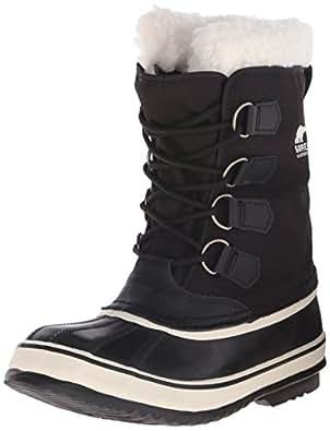 Sorel Winter Carnival, Women Snow Boots, Black (Black, Stone 011), 3 UK (36 EU)