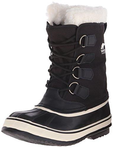 Sorel - Stivali da neve senza rivestimento interno, Donna, Nero (Black, Stone/011), 39