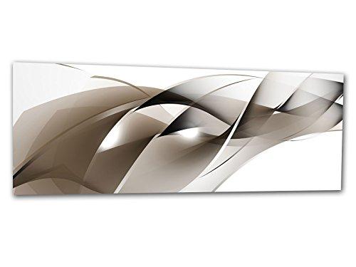 XXL Glasbild AG312500485 MURAL SHADES OF NUDE 125 x 50 cm / WANDBILD Deco Glass / Handmade