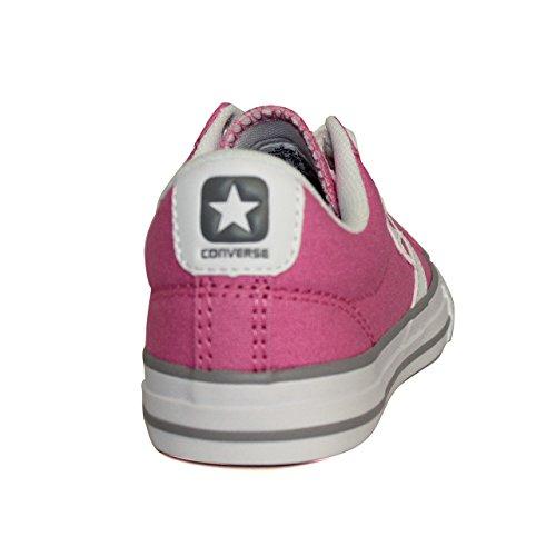 CONVERSE 638441 ROSE - Chuck pink-White