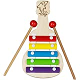 Simple Days Guitar Xylophone Wooden Multi-Color Musical Toy For Kids