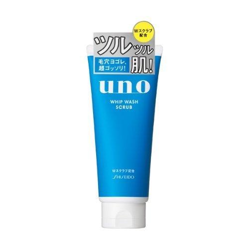 Shiseido Uno Mens Whip Face Wash 130g - Scrab