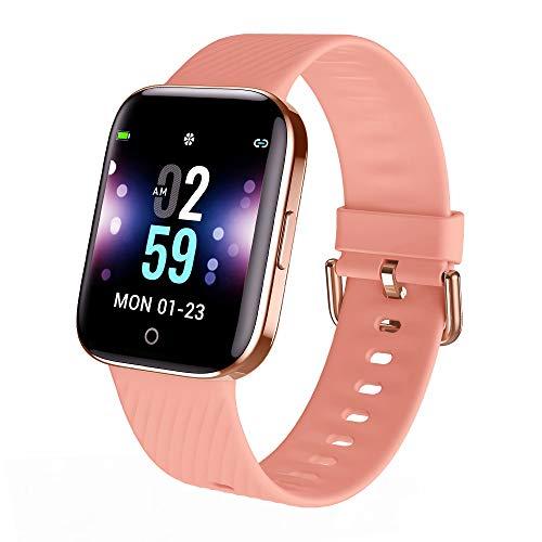 ZKCREATION Smartwatch Damen - Fitness Armband Uhr, Intelligente Armbanduhr Fitness Tracker Smart Watch für Damen Sport Uhr mit Stoppuhr Pulsuhren