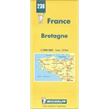 Brittany (Michelin Maps)