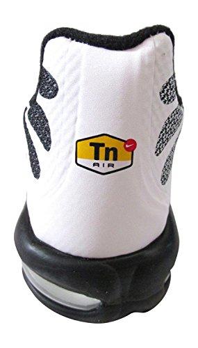 nike air max forte fuse TN tuned hyperfuse scarpe da ginnastica da uomo 483553 scarpe da tennis bianco nero bianco 101