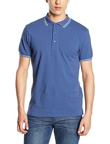 Mick Morrison Herren Poloshirt Blau (Navy)