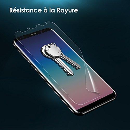G-Color Galaxy S9 Plus Protection Écran  2 Pièces   Erreur,sans  Bulle  Coque Compatible  Liquide Installation ,Souple TPU Film Protection  Écran pour Samsung ... ea30d7909541