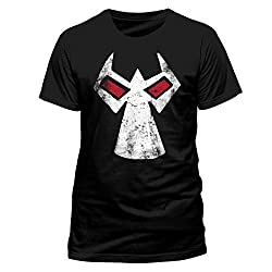 Official Batman Bane Mask Adult T-shirt (Large)