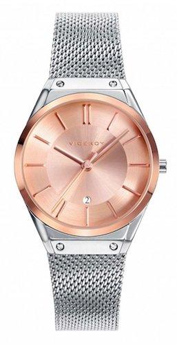 Reloj Viceroy Mujer 42234-97 Malla Plateado