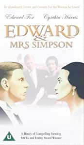 Edward And Mrs Simpson [VHS] [1978]
