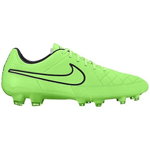 Tiempo Héritage Football Taquet Sport Entraîneur Chaussures Green Strike, Black