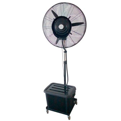 Nebulizzatore ventilatore oscillante portatile con ruote 3 regolazioni Garden