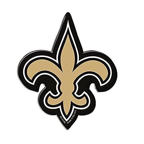 WinCraft NFL NEW ORLEANS SAINTS Premium Magnet (New Orleans Saints Magnet)