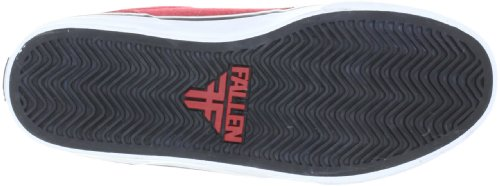 Fallen SLASH Youth 43070008, Chaussures de skateboard mixte adulte Noir (noir/rouge)
