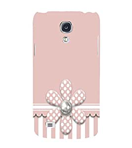 Artificial Flower 3D Hard Polycarbonate Designer Back Case Cover for Samsung Galaxy S4